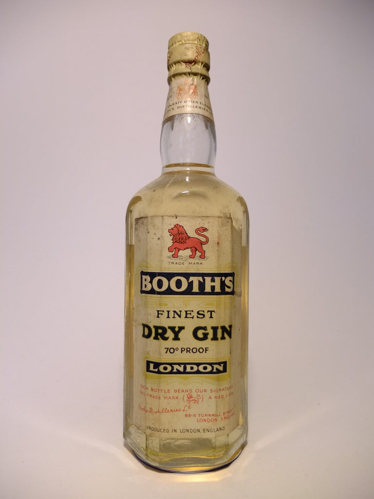 Booth's Finest Dry Gin - 1955 (40%, 75cl)