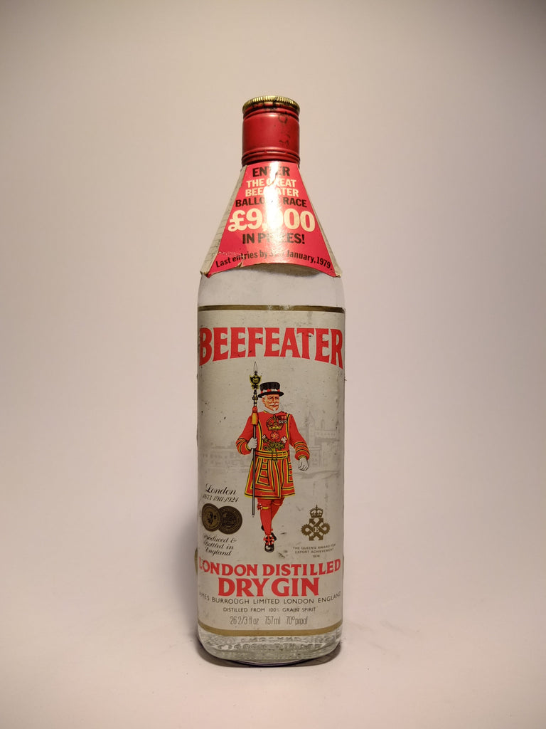 Beefeater London Distilled Dry Gin - 1970s (40%, 75.7cl)