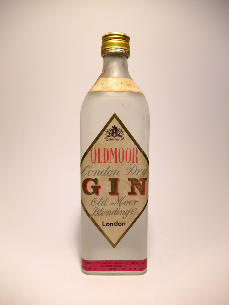 Oldmoor London Dry Gin - 1960s (43%, 75cl)