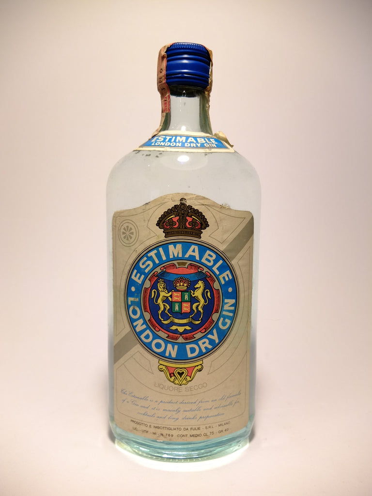 Fulie's Estimable London Dry Gin - 1960s (40%, 75cl)