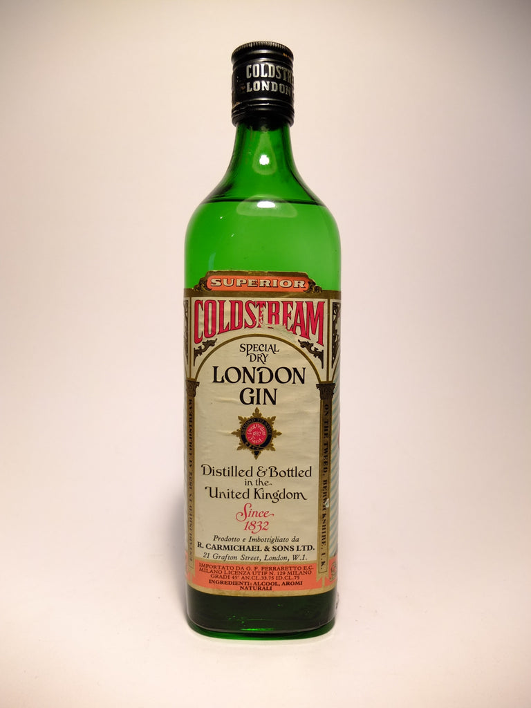 Coldstream Special Dry London Gin - 1970s (45%, 75cl)