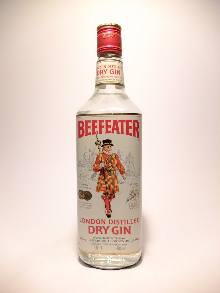 Beefeater London Distilled Dry Gin - 1980s (40%, 75cl)