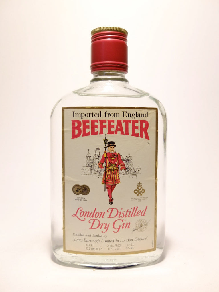 Beefeater London Dry Gin - 1970s (47%, 37.5cl)