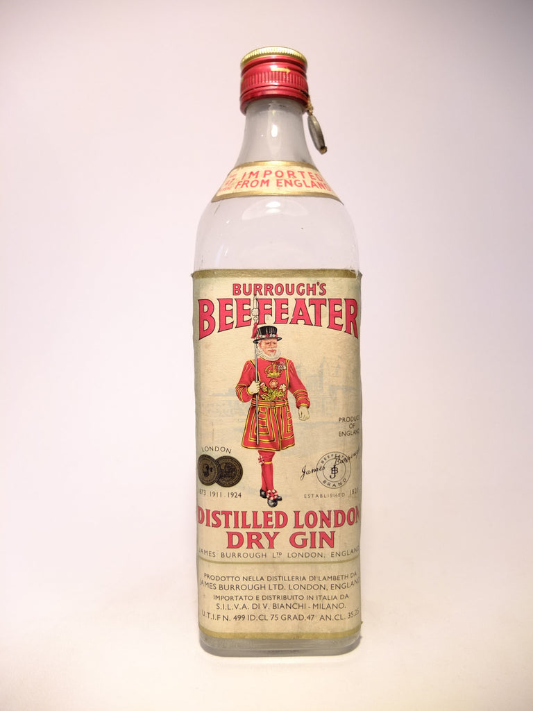Beefeater Distilled London Dry Gin -1949-1959 (47%, 75cl)