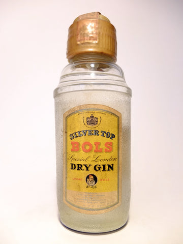 Bols Silver Top Special London Dry Gin - Dated 1962 (45%, 75cl)
