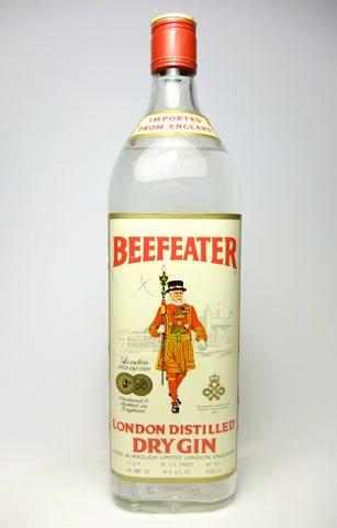 Beefeater London Dry Gin - 1970s (47%, 113.5cl)