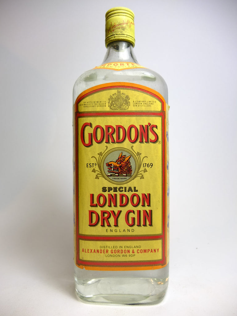 Gordon's Special London Dry Gin - 1990s (47.3%, 100cl)