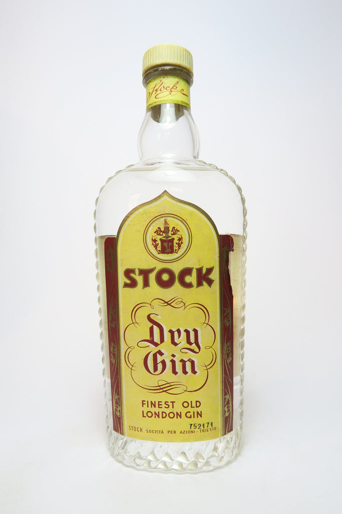 Stock Dry Gin - 1950s (45%, 75cl)