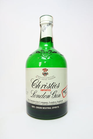 Christie's Special Dry London Gin - Late 1970s/Early 1980s (47.2%, 75cl)