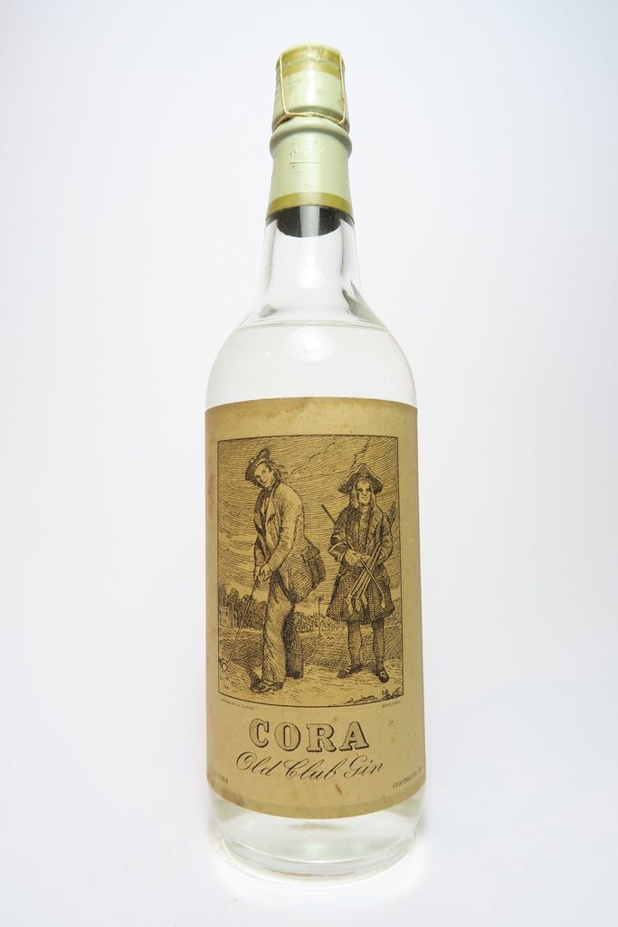 Cora 'Old Club' Gin - 1940s (45%, 75cl)