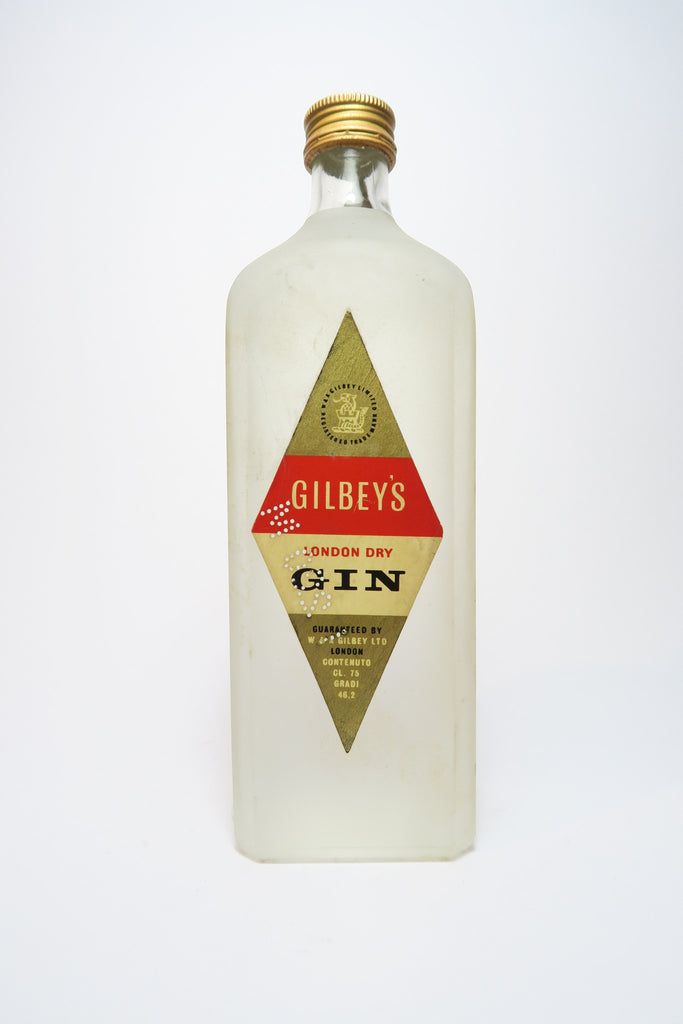 Gilbey's London Dry Gin - 1949-59 (46.2%, 75cl)