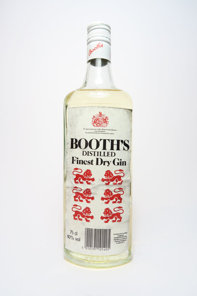 Booth's Finest Dry Gin - 1980s (40%, 75cl)