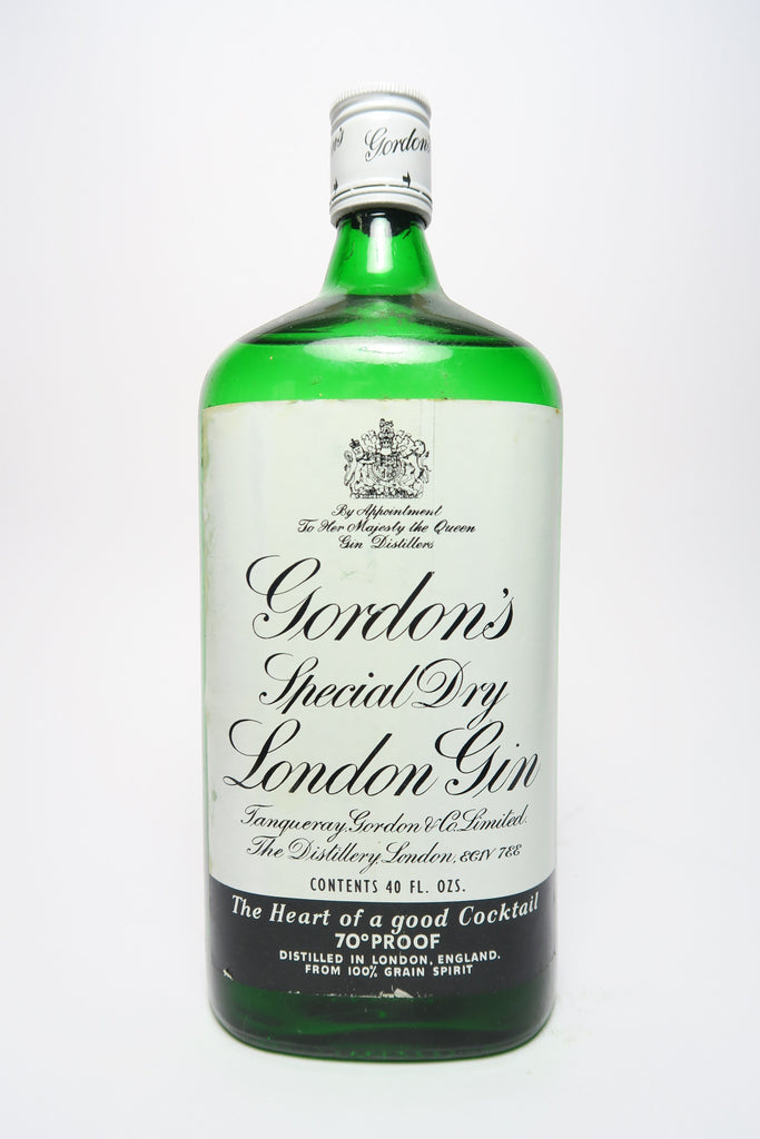 Gordon's London Dry Gin - 1970s (40%, 112.5cl)