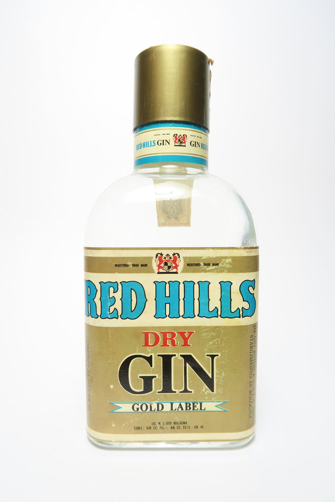 Buton Red Hills Dry Gin - 1960s (45%, 75cl)