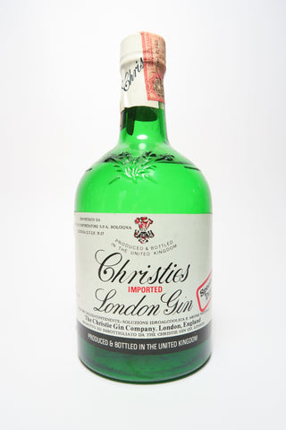 Christie's Special Dry London Gin - 1970s (40%, 75cl)