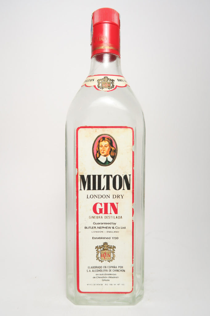 Milton London Dry Gin - 1970s (40%, 100cl)