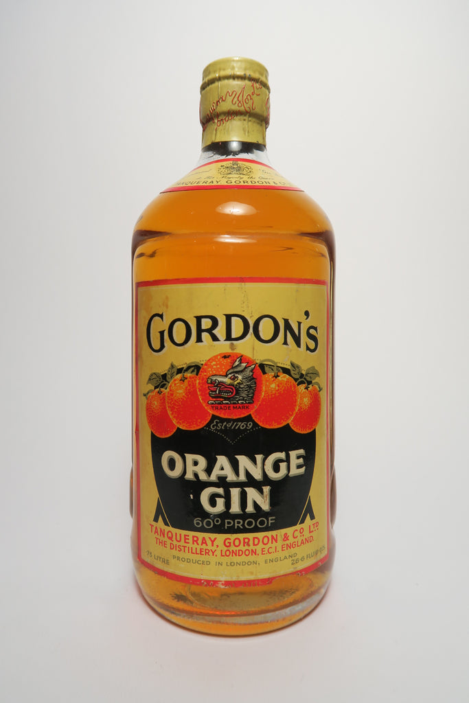 Gordon's Orange Gin - 1950s (34%, 75cl)