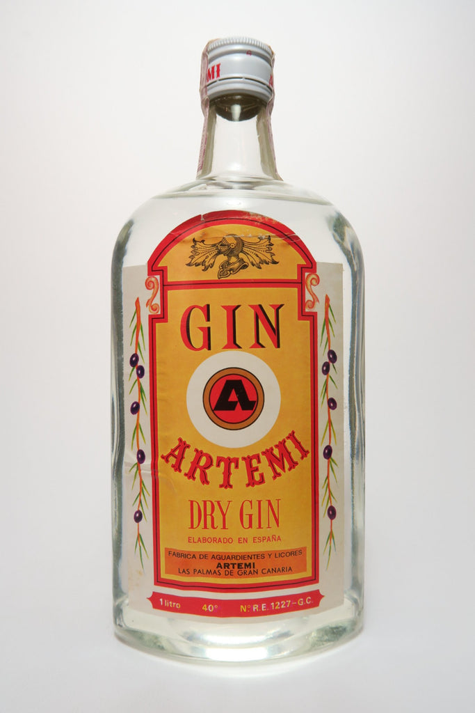 Artemi Dry Gin - 1970s (40%, 100cl)