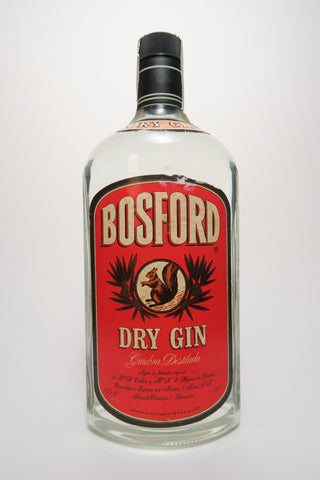 Bosford Dry Gin - early 1980s (38%, 100cl)