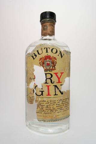 Buton Dry Gin - 1950s (40%, 75cl)