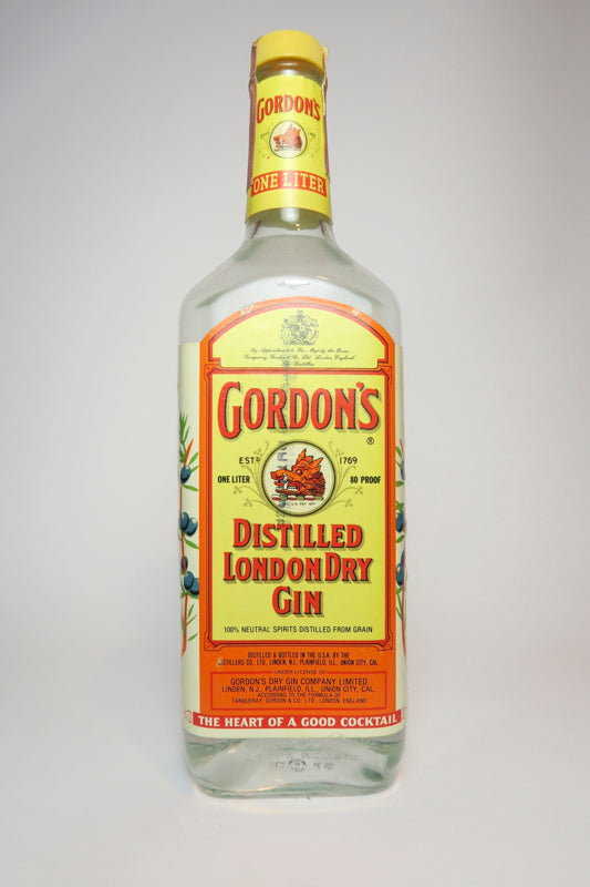 Gordon's London Dry Gin - 1981 (40%, 100cl)
