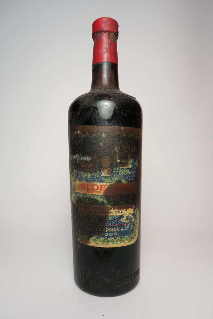 George Idol Chapman Extra Quality Sloe Gin - 1940s (ABV Not Stated, 75cl)