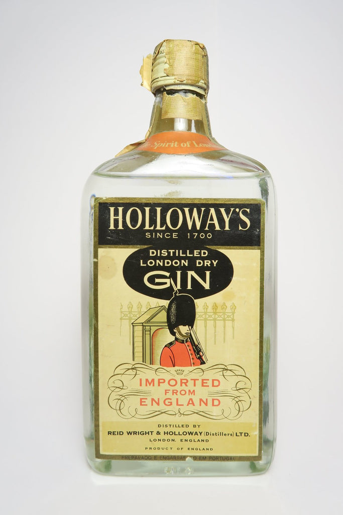 Reid Wright & Holloway's Distilled London Dry Gin - c. 1950 (40+%, 100cl)