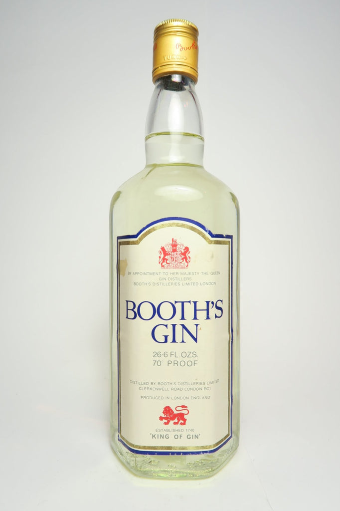 Booth's Gin - 1970s (40%, 75cl)