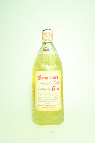 Seagram's Ancient Bottle Distilled Dry Gin - 1951 (45%, 94.6cl)