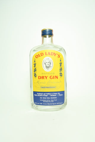 Marie Brizard's Old Lady London Dry Gin - 1960s, (48%, 75.7cl)