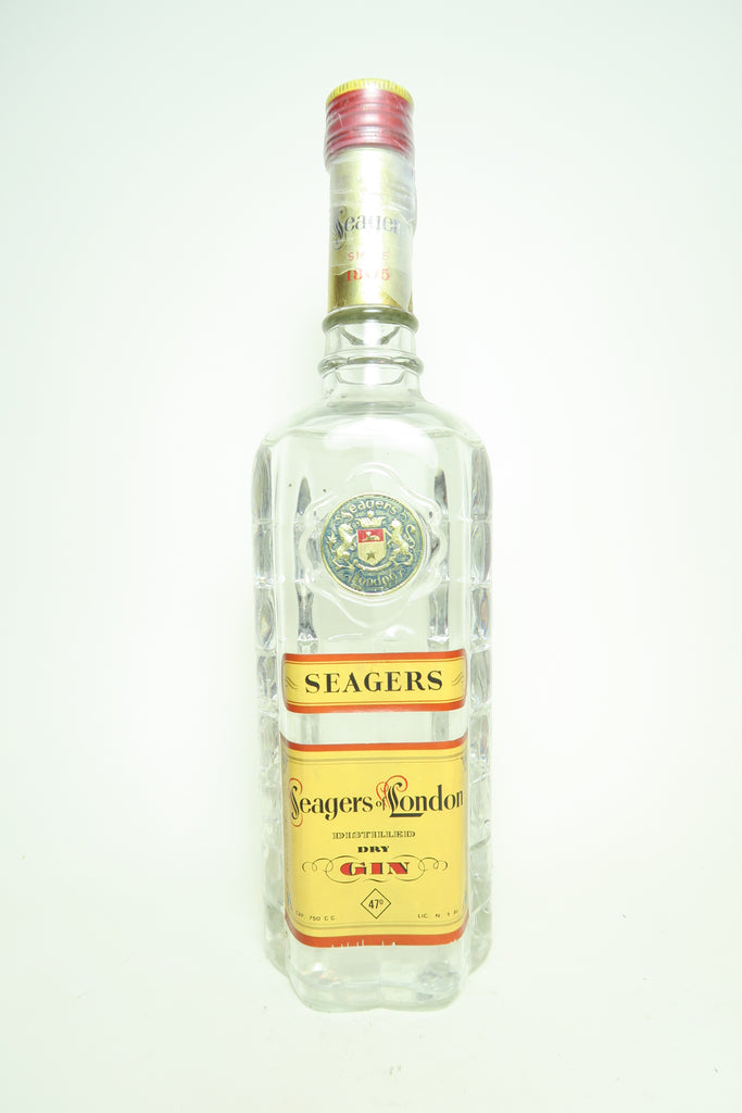Seager's London Dry Gin - 1949-59 (47%, 75cl)