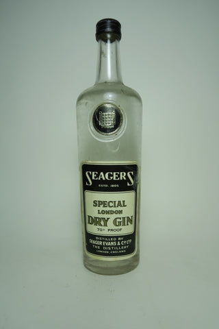 Seager's London Dry Gin - 1940s (40%, 70cl)