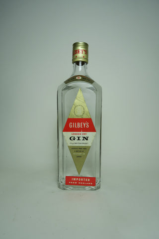 Gilbey's London Dry Gin - 1950s (40%, 75cl)