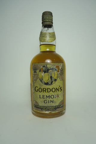 Gordon's Lemon Gin - 1931-36 (ABV Not Stated, 75cl)