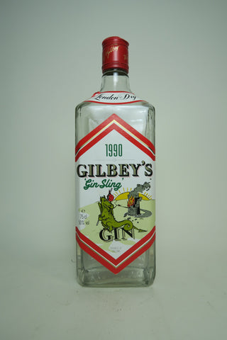 Gilbey's 'Gin Sling' London Dry Gin - Bottled 1990 (50%, 75cl)
