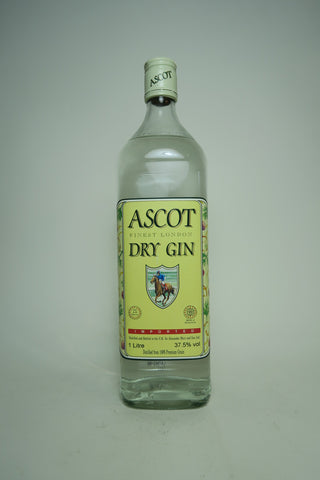 Alexander Muir's Ascot Finest London Dry Gin - 2000 (37.5%, 100cl)