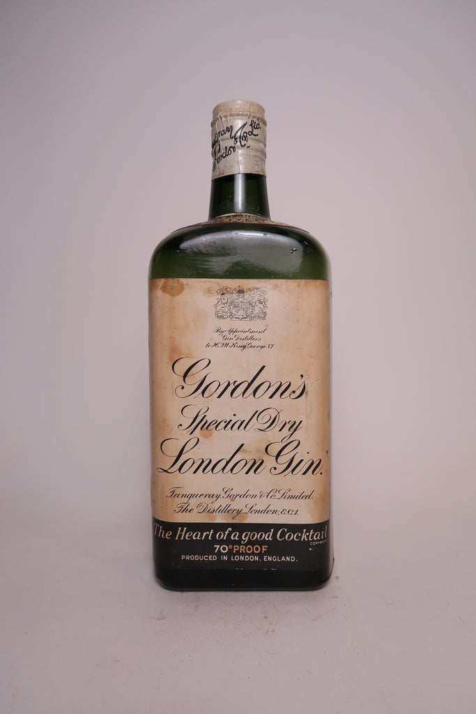 Gordon's London Dry Gin - 1936-52 (40%, 75cl)