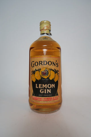 Gordon's Lemon Gin - 1950s (34%, 75cl)