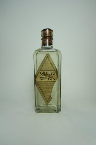 Gilbey's Crystal Dry Gin - late 1930s (40%, 37.5cl)