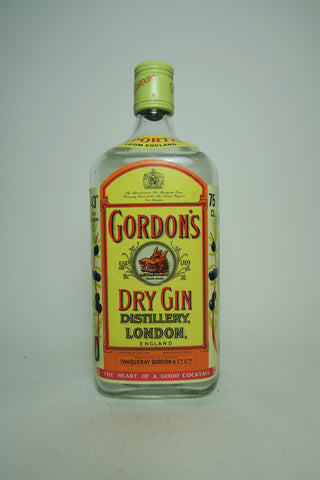 Gordon's London Dry Gin (Export) - 1970s (ABV Not Stated, 75cl)