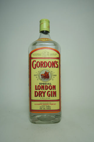 Gordon's London Dry Gin (Export) - 1990s (47.3%, 100cl)