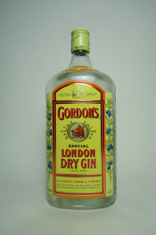 Gordon's London Dry Gin (Export) - 1990s (47%, 112.5cl)