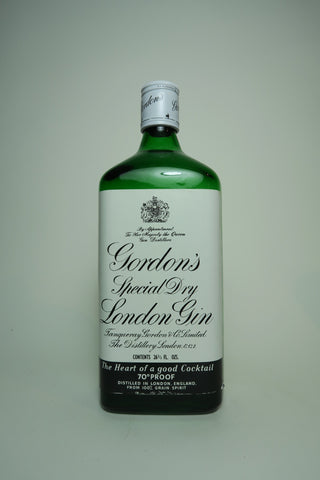 Gordon's Special Dry Gin - 1970s (40%, 75cl)