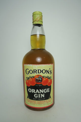 Gordon's Orange Gin - 1950s or earlier (34%, 75cl)