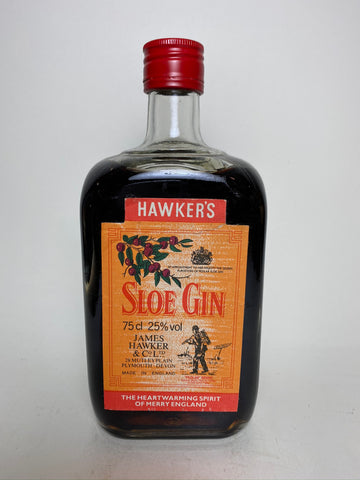 James Hawker's Plymouth Sloe Gin - 1980s (25%, 75cl)