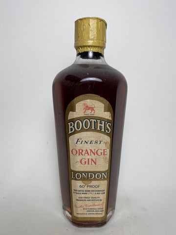 Booth's Orange Gin - 1950s (34%, 35cl)