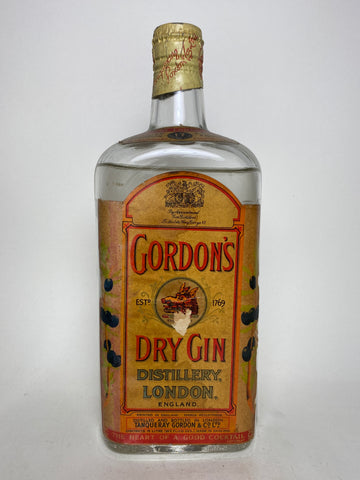 Gordon's Dry Gin (Export) - post-1936 (40%, 75cl)
