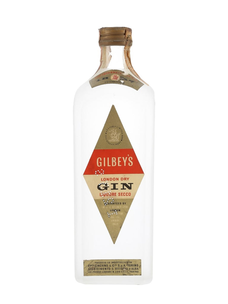 Gilbey's London Dry Gin - 1960s	(46.2%, 75cl)