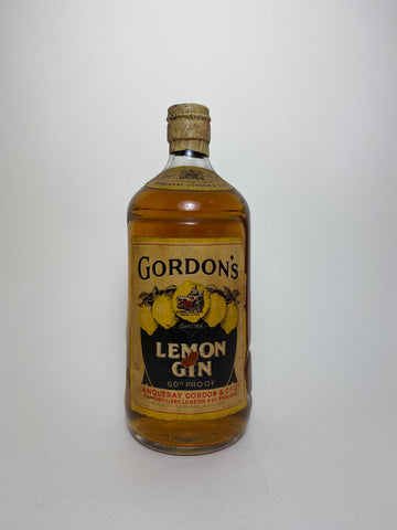 Gordon's Lemon Gin - post-1952 (34.5%, 75cl)