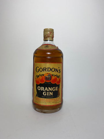 Gordon's Orange Gin - 1936-52 (34.5%, 75cl)
